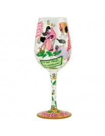 Lolita 'Domestic Goddess' Wine Glass